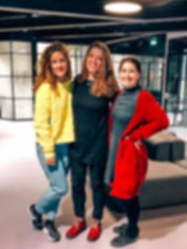 Three smilin women