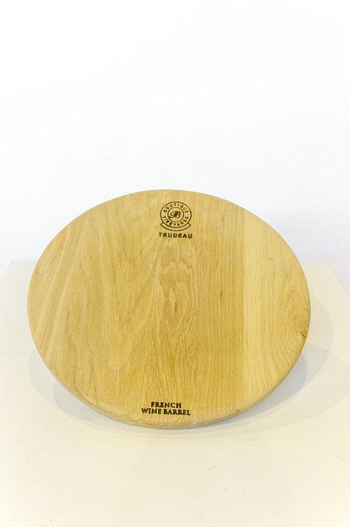 Large Round Oak Board