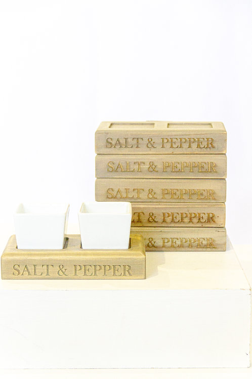Vagari Salt & Pepper Holder