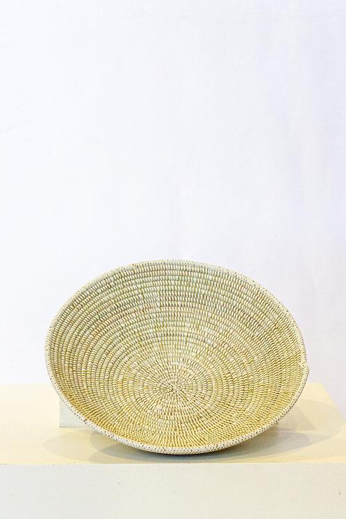 Small White Fele Basket
