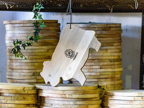 Oak Cow Board