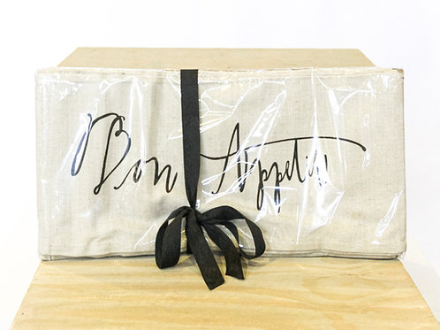 Bon Appetit Napkin Set