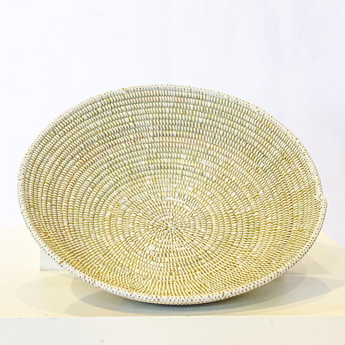 Large White Fele Basket