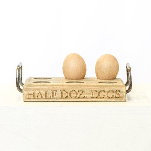 1/2 Dozen Eggs Egg Holder
