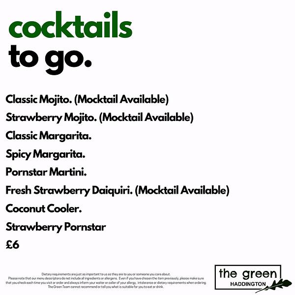 The Green Haddington Cocktails