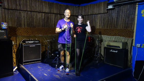 Punk Rope brings jump rope and punk rock to virtual fitness training