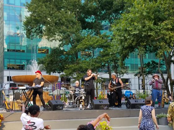 Brave Combo brings polka fun to Bryant Park