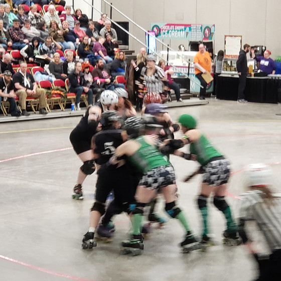 A night at the Madison Roller Derby