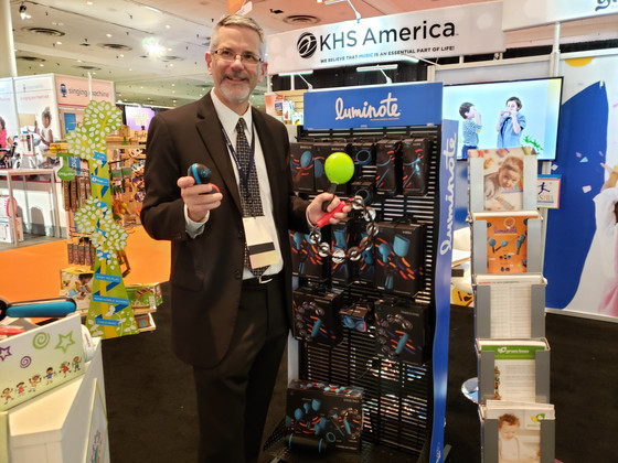 KHS America introduces Luminote line at Toy Fair for kids of all ages