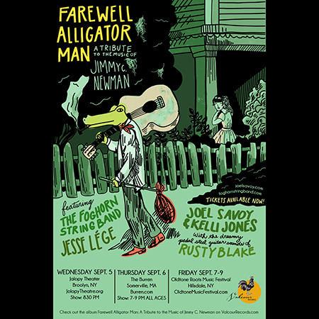 Cajun country legend Jimmy C. Newman celebrated in Brooklyn with 'Farewell Alligator Man' tr