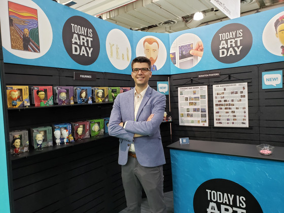 Today is Art Day unveils new art merchandise at NY NOW