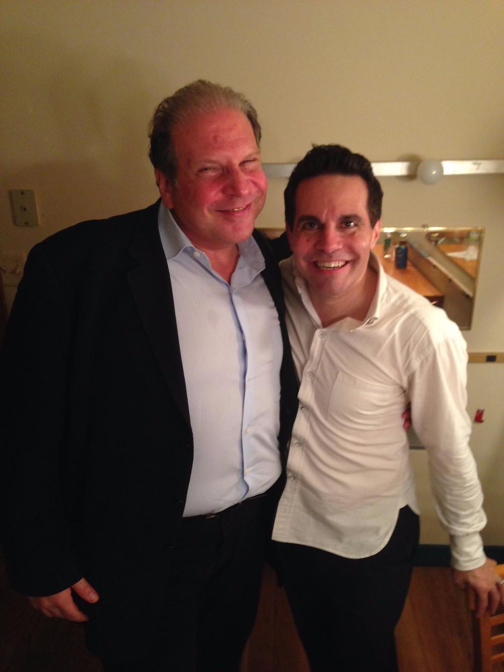 Eddie Brill and Mario Cantone
