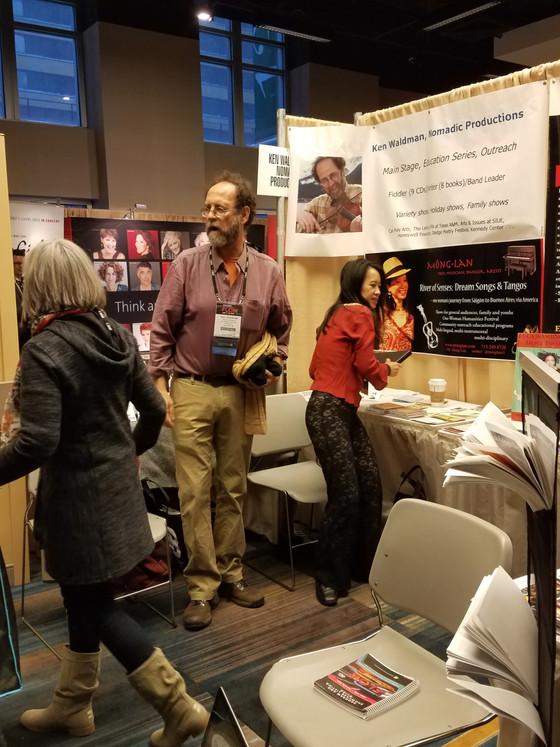 Ken Waldman preaches the truth at 8th annual 'From Manhattan to Moose Pass' APAP showcases