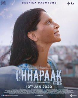 Bollywood superstar Deepika Padukone's brave portrayal in 'Chhapaak'