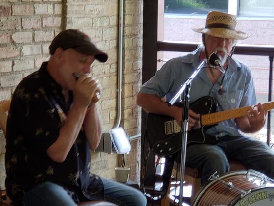 Tasty dinner blues at Otto's from Westside Andy & Glenn Davis