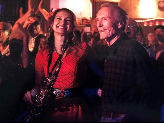 Mollie B and Squeezebox grace Clint Eastwood's 'The Mule' with polka music