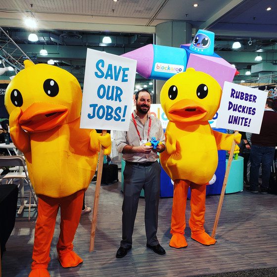 Blockaroo throws protesters out with the bathwater at Toy Fair