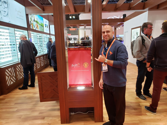 Maui Jim celebrates partnerships with Manchester Union and VSP at Vision Expo