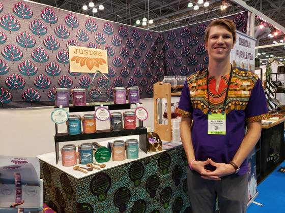 JusTea shows award-winning product and packaging at NY NOW