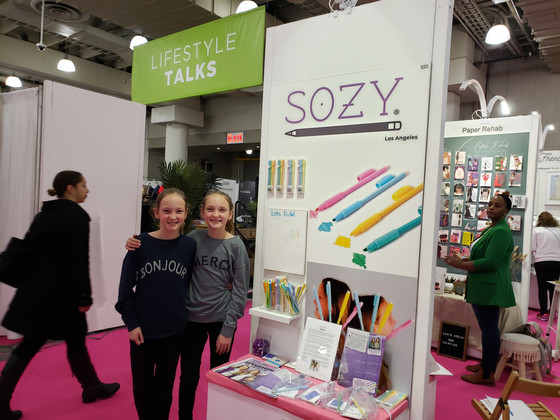 SOZY twins introduce 'Annotator' pencil/highlighter combo at NSS