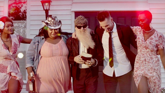 Billy F Gibbons' reverential alter ego stars in new country trio Chapel Hart's video