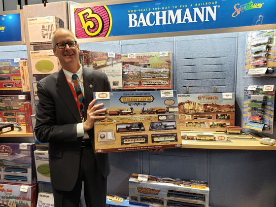 Bachmann celebrates 150th anniversary of the Golden Spike Ceremony with new Transcontinental Train s