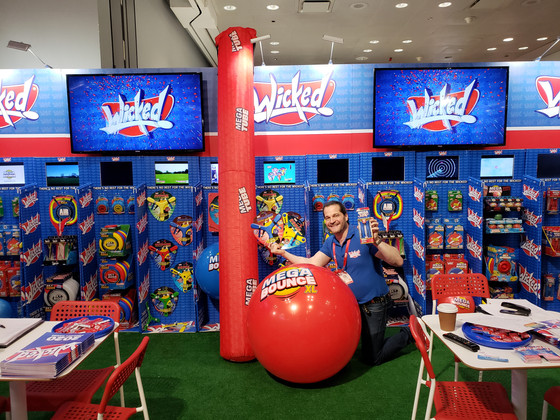 Wicked toys go 'Mega' with jump ropes, balls and tubes at Toy Fair
