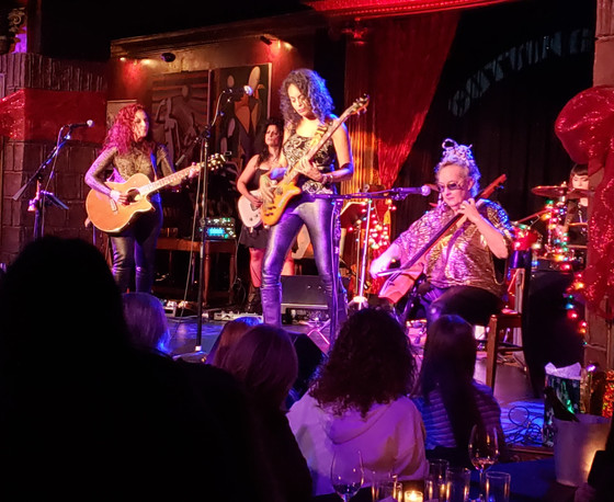 BETTY, with Gloria Steinem, ushers in the holidays at New York's Cutting Room