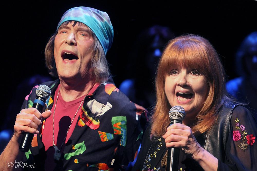 Jim Rado and Annie Golden