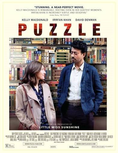 Solution to stunted personal growth found in 'Puzzle,' with Kelly Macdonald and Irrfan Khan