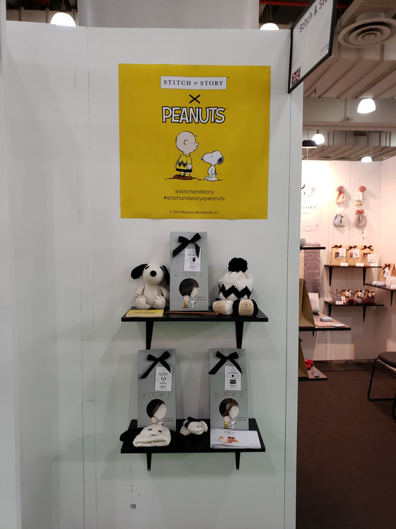 Stitch & Story's NY NOW story has to do with knitting and crocheting