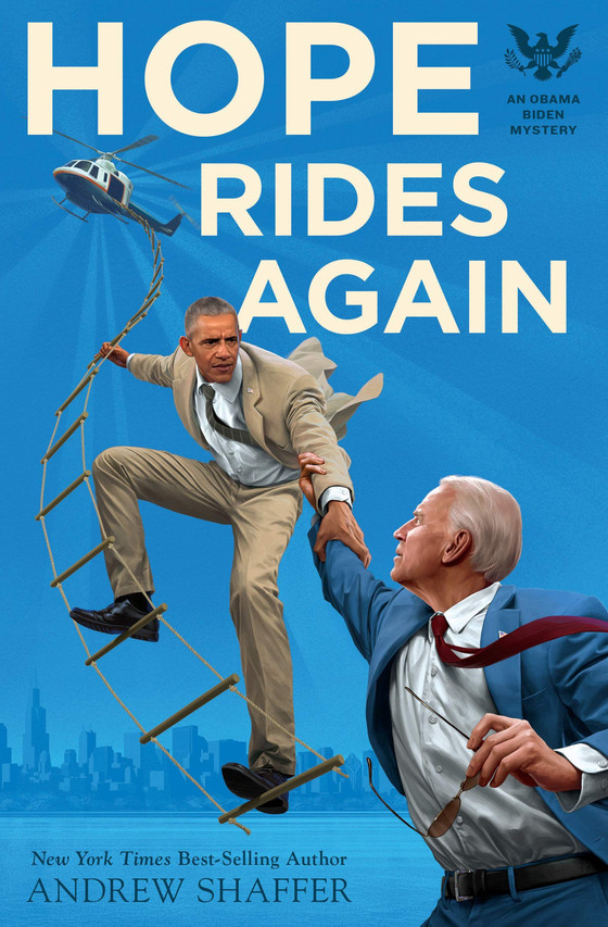 A conversation with 'Hope Rides Again' ('An Obama Biden Mystery') author Andrew Shaf