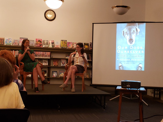 Author/researcher Alexandra Horowitz discusses the 'singular bond' between dogs and humans a