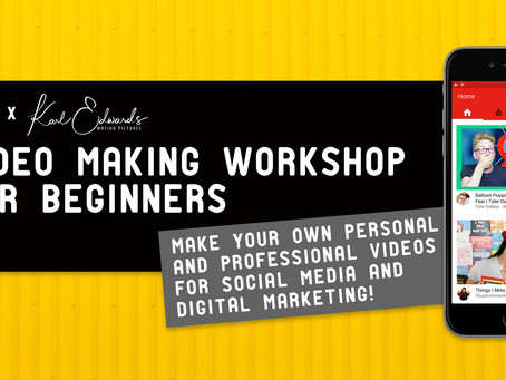 VIDEO MAKING WORKSHOP FOR BEGINNERS