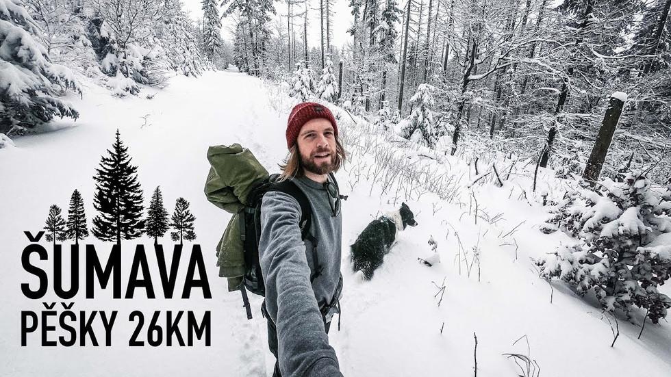 Šumava - pěšky na jezero Laka #4