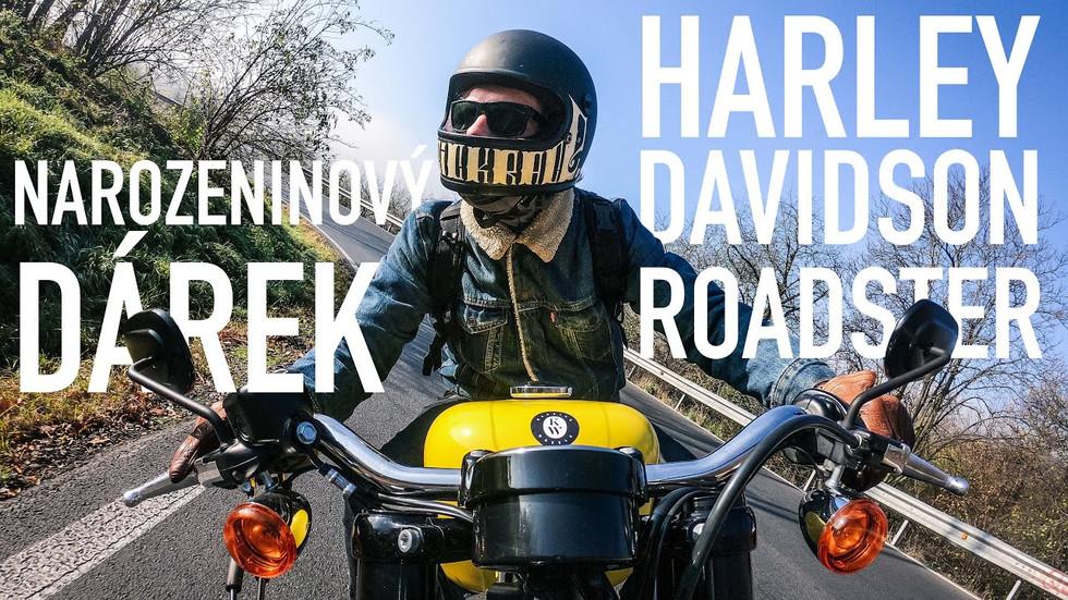 Narozeninový dárek / Harley Davidson Roadster #3