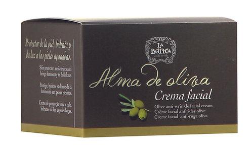 Crema facial hidratante de Oliva