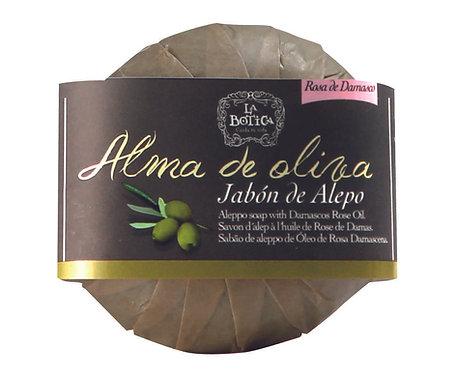 Jabón de Alepo -Rosa de Damasco