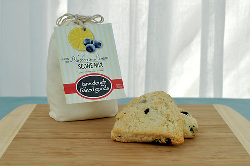 GLUTEN FREE - Blueberry Lemon Scone Mix