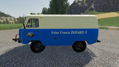 Votez Francis DURAND !!