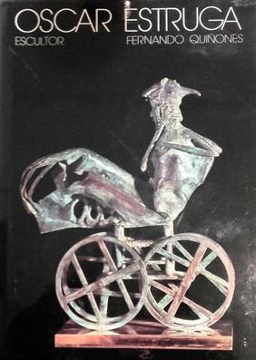 Libro Oscar Estruga, 1985. Edicions del Mall. Autor Fernando Quiñones