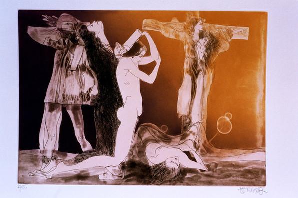 Mística 4 - Crucifixión