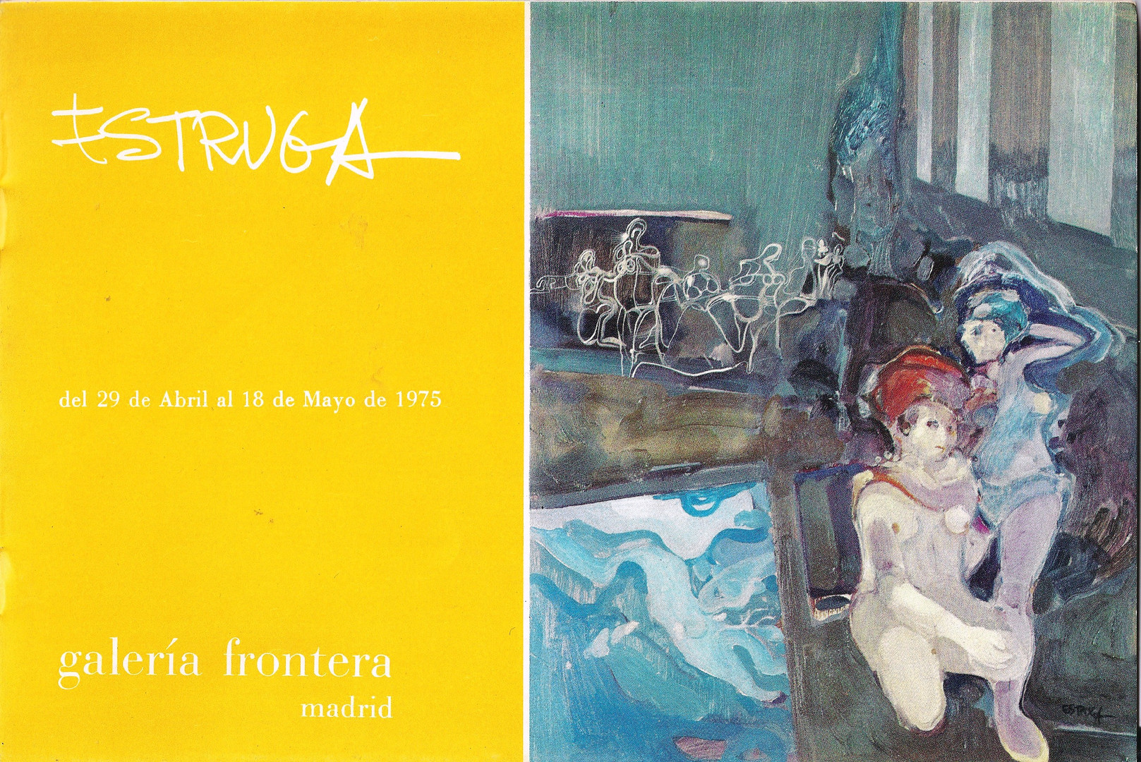 Galería Frontera. Madrid, 1975