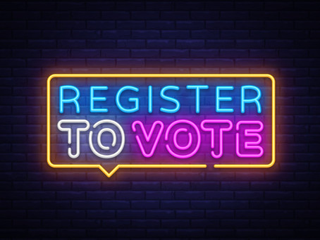 TODAY IS THE LAST DAY TO REGISTER TO VOTE!!!