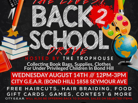The livest back to school drive