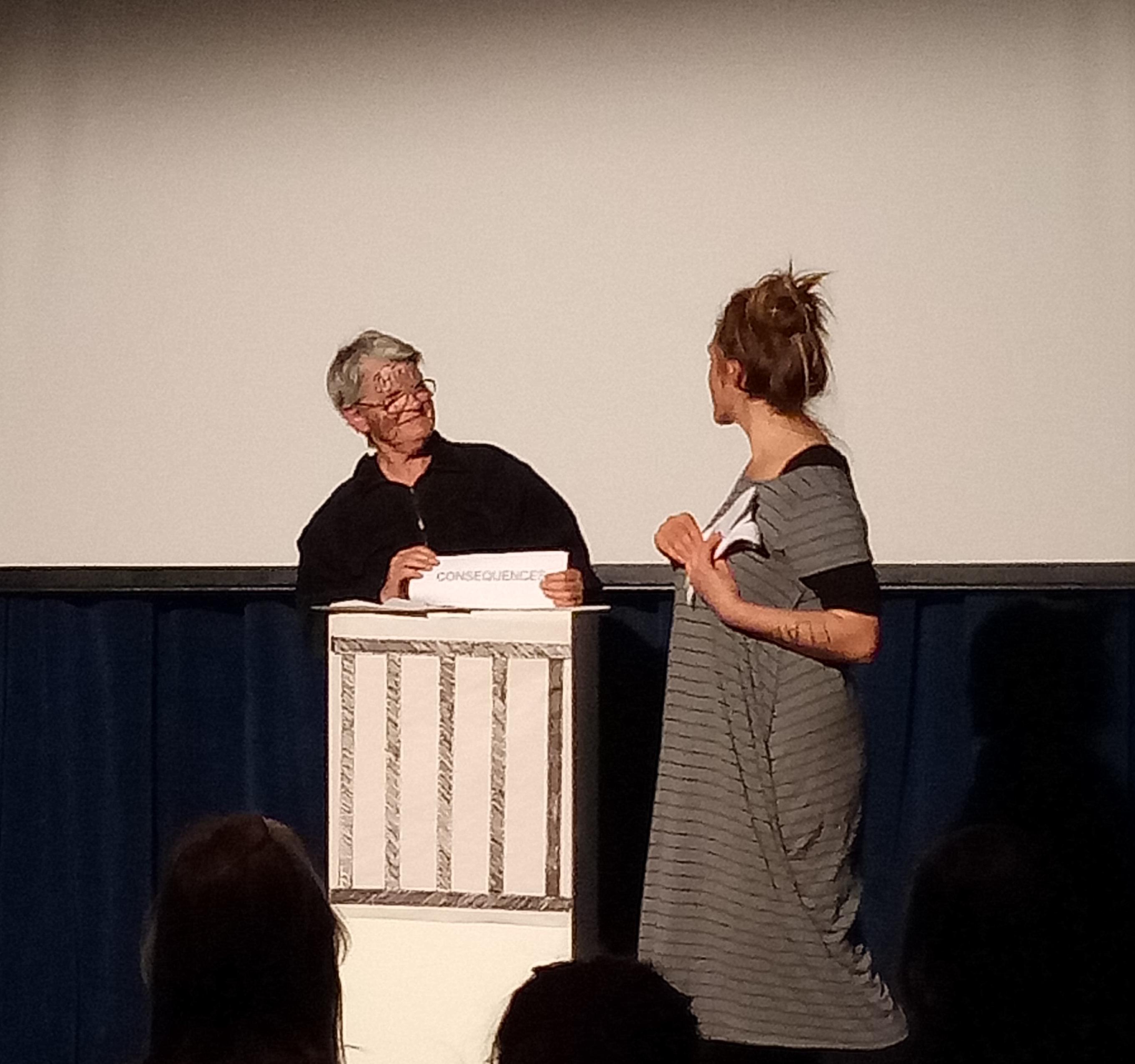 Charlotte Clutterbuck and Eva Culek