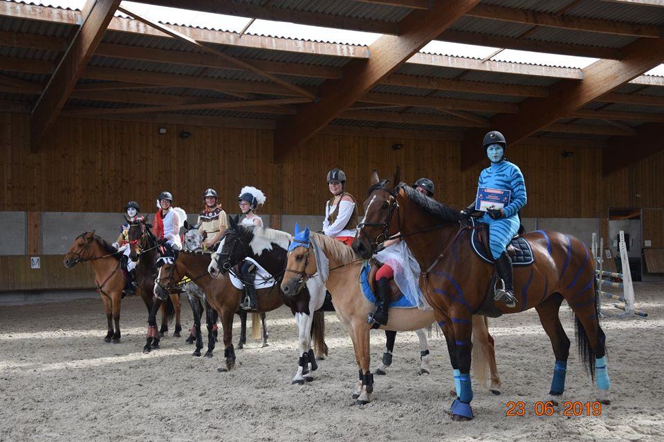 Fête du poney club d'aubigny sur Nère