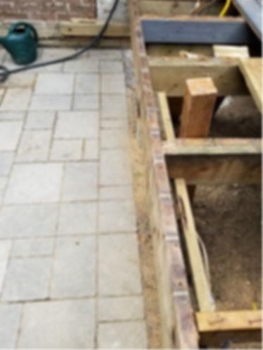 Deck needing repair