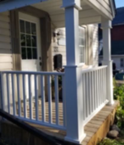 renovated porch