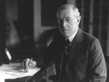 CONFERENCE ON WILSON'S 14 POINTS TO END WWI